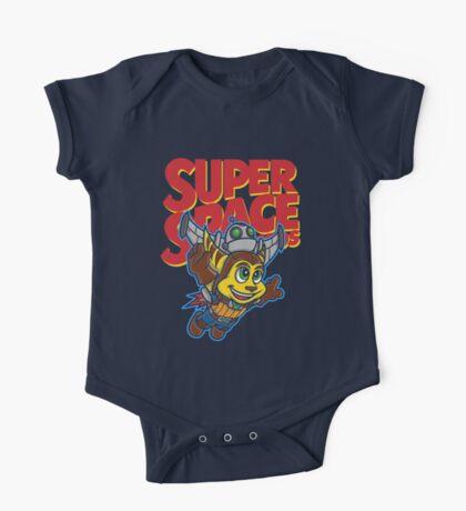 Super Space Bros One Piece - Short Sleeve