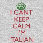 Italian Keep Calm by pinballmap13