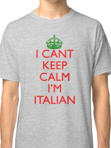 Italian Keep Calm Classic T-Shirt