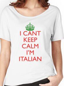 Italian Keep Calm Women's Relaxed Fit T-Shirt