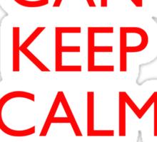 Italian Keep Calm Sticker