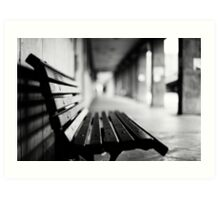 bench for you Art Print