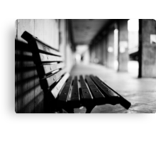 bench for you Canvas Print