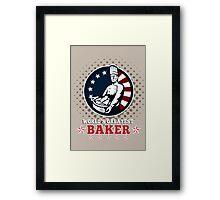World's Greatest Baker Greeting Card Poster Framed Print