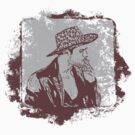 Cowboy Smoking Hat :D Cool Grunge Vintage T-Shirt by Denis Marsili - DDTK