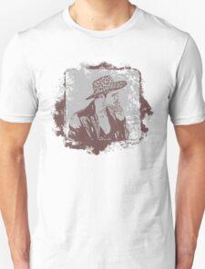 Cowboy Smoking Hat :D Cool Grunge Vintage T-Shirt T-Shirt