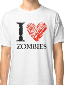 I Love Zombies (Version 01) Classic T-Shirt