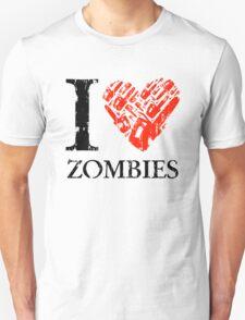 I Love Zombies (Version 01) T-Shirt