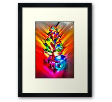 Recycled Colour Framed Print