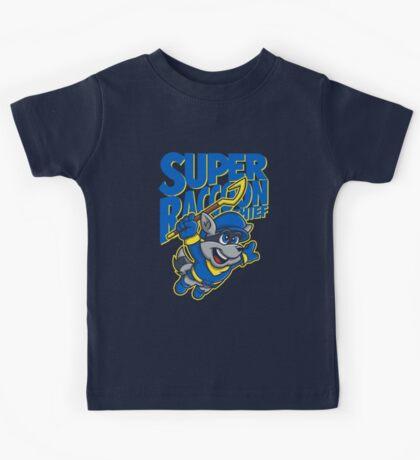 Super Raccoon Thief Kids Tee