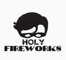 Holy Fireworks Baby Tee