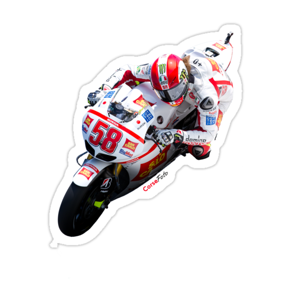 Marco Simoncelli in Mugello 2011 by corsefoto