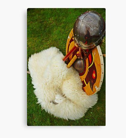 Viking Armour Canvas Print