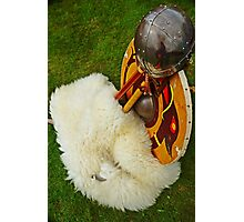 Viking Armour Photographic Print