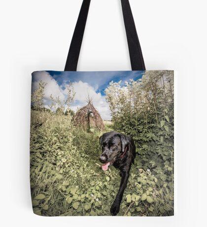 Walking the Dog Tote Bag
