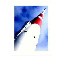DISNEYLAND - Moonliner Art Print
