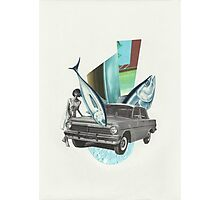 Bluefin Roadster Photographic Print