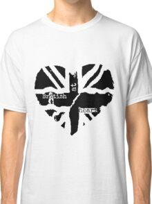 Brit at Heart (Black) Classic T-Shirt
