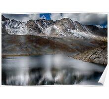 Summit Lake - Mount Evans Poster
