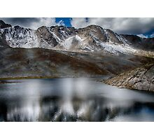 Summit Lake - Mount Evans Photographic Print