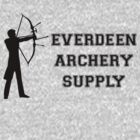 Everdeen Archery Supply Store by Morrocandesigns