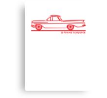 1959 1960 Chevrolet El Camino Canvas Print