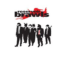 Reservoir Brawls - iPod/iPhone case by BabyJesus