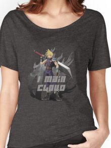 I MAIN CLOUD Women's Relaxed Fit T-Shirt