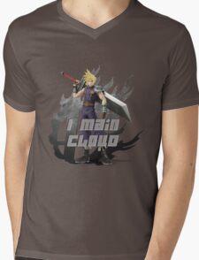 I MAIN CLOUD Mens V-Neck T-Shirt