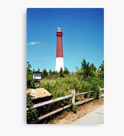 The Pride of the Jersey Shore, Barnegat Light Canvas Print