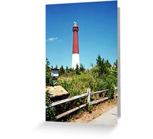 The Pride of the Jersey Shore, Barnegat Light Greeting Card