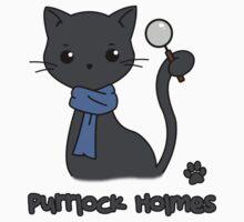 Purrlock Holmes Kids Tee