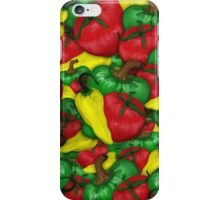 Tomatoes and Peppers iPhone Case/Skin