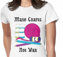 Make Crafts Womens Fitted T-Shirt