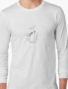 macro girl Long Sleeve T-Shirt