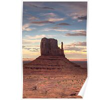 Monument Valley - West Mitten Butte Poster