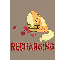 Recharging Photographic Print