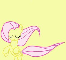 Windswept Fluttershy by minix