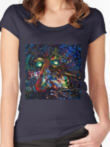 Tree Man Women's Fitted Scoop T-Shirt