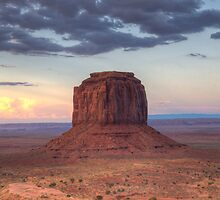 Monument Valley - Merrick Butte  by Saija  Lehtonen