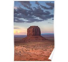 Monument Valley - Merrick Butte  Poster