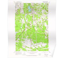 USGS Topo Map Washington State WA Spanaway 243881 1959 24000 Poster