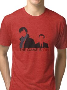 The Game is On Tri-blend T-Shirt