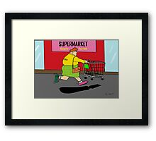 The Australian Olympic Spirit Framed Print