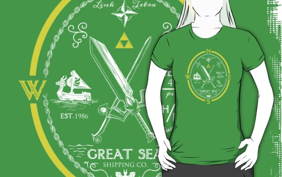 Great Sea Shipping Co. by TeeKetch