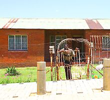 House in Soweto, South Africa by Carole-Anne