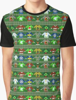 The Ugly 'Ugly Christmas Sweaters' Sweater Design Graphic T-Shirt