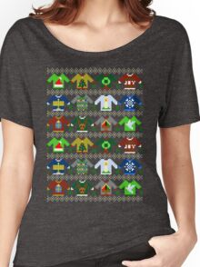 The Ugly 'Ugly Christmas Sweaters' Sweater Design Women's Relaxed Fit T-Shirt