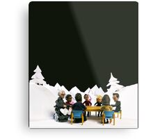 The Study Group's Winter Wonderland - Style B Metal Print