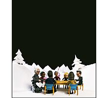 The Study Group's Winter Wonderland - Style B Photographic Print